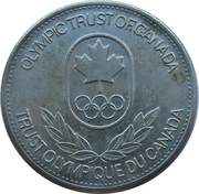 Olympic Trust of Canada - Figure Skating – revers