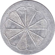 1 Pfennig (Spielgeld) – avers