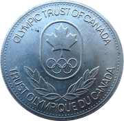 Token - Olympic Trust of Canada (Basketball) – revers