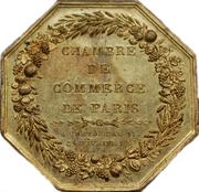 Jeton Consulat - Chambre de Commerce de Paris – revers