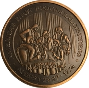 Token - America's First Provincial Congress,  (New Bern, North Carolina) – revers
