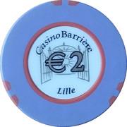 Casino Lille (59) - 2 euro – avers