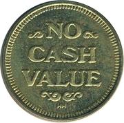 Token - No cash Value (Dancing wizard) – revers