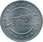 Johannesburg, Montecasino - The Magic Company Arcade Token – avers