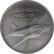Medal - Inaugural Flight Between Vancouver and Winnipeg (Lockheed 14) – avers