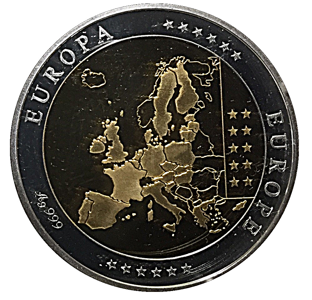 Coin Medal Vatican 5 Euro Peace And Unity Jetons Numista