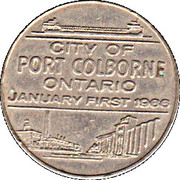 City of Port Colborne - The Gate of Navigation – revers
