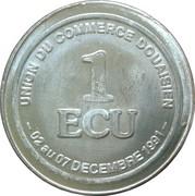 1 ECU de Douai [59] – revers