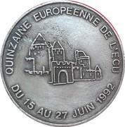 1 ecu de Carcassonne [11] – avers