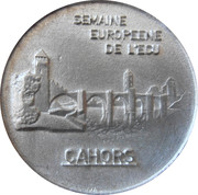 1 écu de Cahors [46] – avers