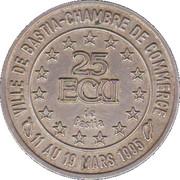 25 Ecus de Bastia [2B] – revers