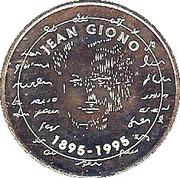 20 écus - Centenaire de la naissance de Jean Giono - Manosque [04] – avers