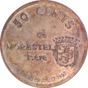 50 cents de Morestel [38] – revers