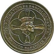 1 euro de Barcelonnette [04] – avers