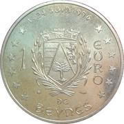 1 euro de Beynes [78] – revers