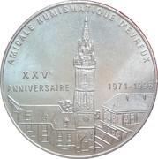 1 euro d'Évreux [27] – avers