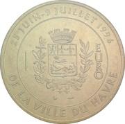 1 euro du Havre [76] – revers