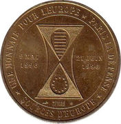 1 euro Paris la Défense [92] – avers
