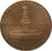 1 euro de Pernes-les-Fontaines [84] – avers