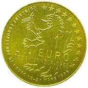 1 euro de Savigny-sur-Orge [91] – revers