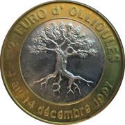 2 euros d'Ollioules [83] – avers