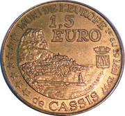 1,5 euro Calendal Cassis [13] – revers