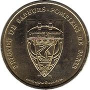 2 euros Pompiers de Paris [75] – avers