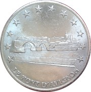 2 euros d'Avignon [84] – avers