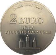 2 euros de Cambrai [59] – revers