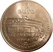2 euros Amédée V (Chambéry) [73] – revers