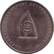 2 euros de Cherbourg [50] – avers