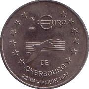 2 euros de Cherbourg [50] – revers
