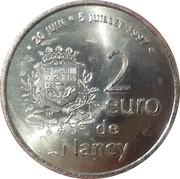 2 euros de Nancy [54] – avers
