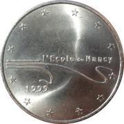 2 euros de Nancy [54] – revers