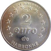 2 euros de Narbonne [11] – revers