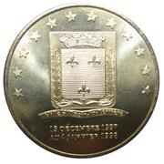 2 euros d'Ozoir la Ferrière [77] – avers