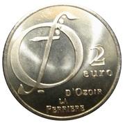 2 euros d'Ozoir la Ferrière [77] – revers