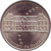 2 euros de Rennes [35] – avers