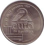2 euros de Rennes [35] – revers