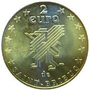 2 euros de Saint-Brieuc [22] – revers