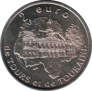 2 euros de Tours et de Touraine (Maisons à colombages) [37] – revers