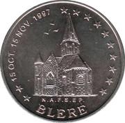 2 euros de Tours et de Touraine (Bléré) [37] – avers