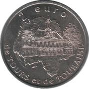 2 euros de Tours et de Touraine (Bléré) [37] – revers