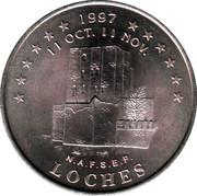 2 euros de Tours et de Touraine (Loches) [37] – avers