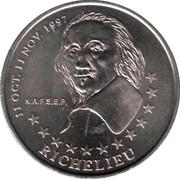 2 euros de Tours et de Touraine (Richelieu) [37] – avers