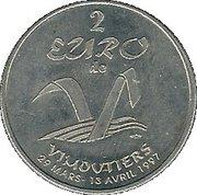 2 euros de Vimoutiers [61] – avers