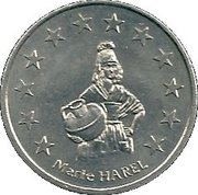 2 euros de Vimoutiers [61] – revers