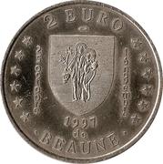 2 Euro de Beaune [21] – revers