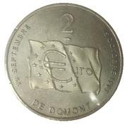 2 euro de Domont (95) – revers