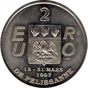 2 Euro de Pélissanne [13] – avers